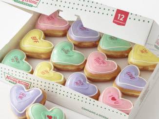 Krispy Kreme Unveils New Valentine's Day-Themed 'Conversation Doughnuts'