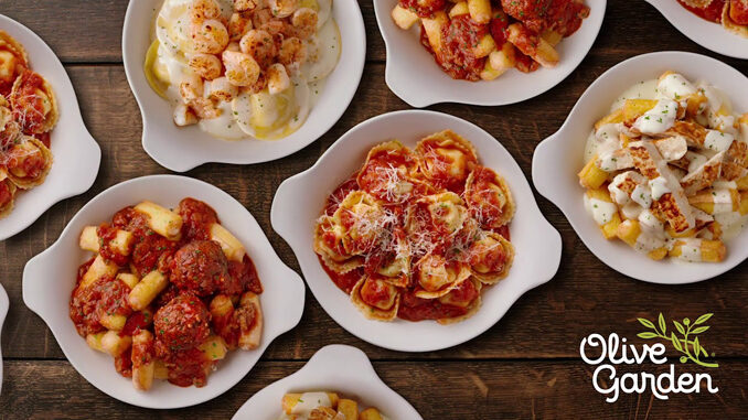 Olive Garden Launches New Never-Ending Stuffed Pastas ...