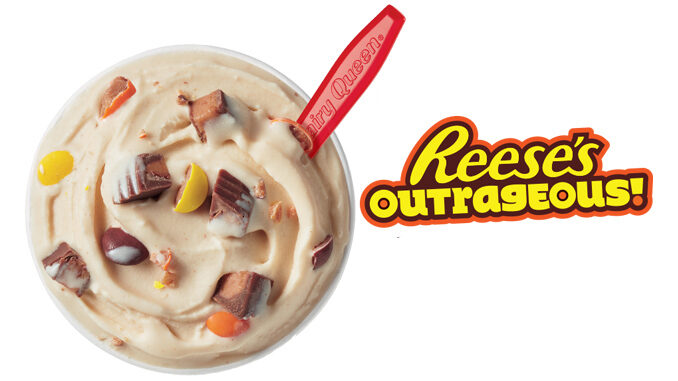 Reese's Outrageous Blizzard Is The Dairy Queen Blizzard Of The Month For January 2019