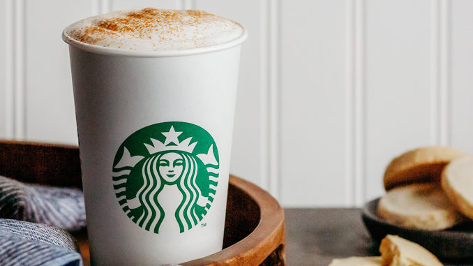 Starbucks Debuts New Cinnamon Shortbread Latte As Part Of New 2019 Winter Menu