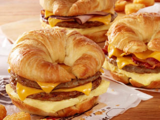 Burger King Adds Double Croissan'wich To Breakfast Lineup