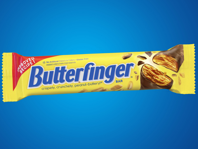 Butterfinger Reveals New And Improved Butterfinger Candy