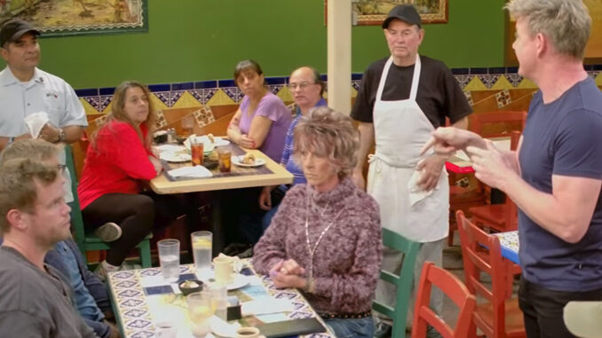 Gordon Ramsay At Los Toros Mexican Restaurant For 24 Hours To Hell And Back