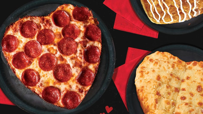 Heart-Shaped Pizzas Coming To Jet's Pizza On February 14, 2019