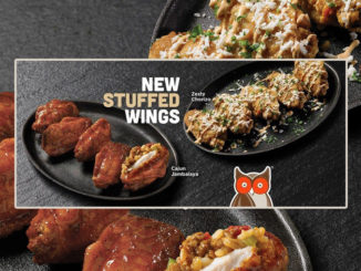 Hooters Unveils New Stuffed Wings