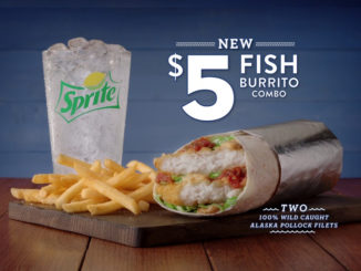 Jack In The Box Reveals New Fish Burrito