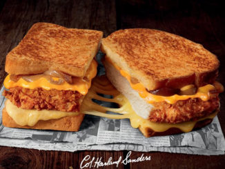 KFC Is Selling A Colonel Grilled Cheese Sandwich In France