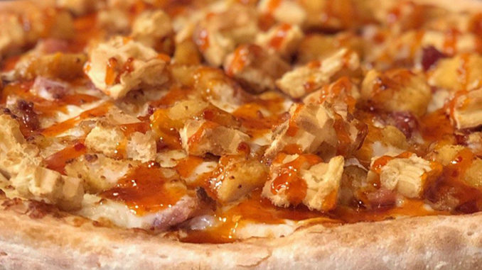 New Hot Honey Chicken & Waffles Pizza Coming To A Papa John's In The Near Future