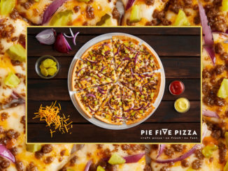 Pie Five Unveils New Double Cheeseburger Pizza