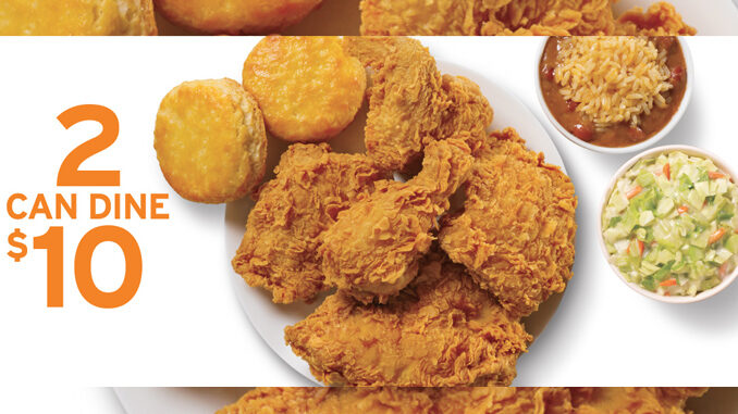 Popeyes Puts Together New 2 Can Dine For $10 Deal