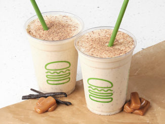 Shake Shack Spins New Salted Vanilla Toffee Shake
