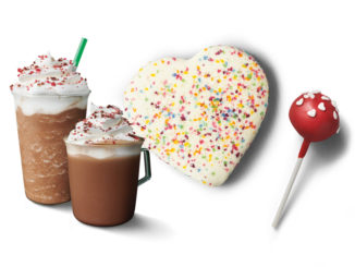 Starbucks Welcomes Back Cherry Mocha And Sweet Treats As Part Of 2019 Valentine's Day Lineup