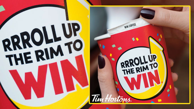 Tim Hortons Welcomes Back Roll Up The Rim To Win For 2019