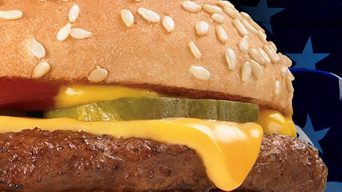 69-Cent All American Cheeseburgers At Checkers And Rally's‏ On March 27, 2019