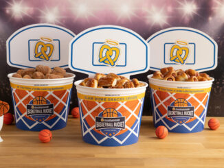 Auntie Anne's Puts Together Limited Edition Basketball Buckets Through April 8, 2019