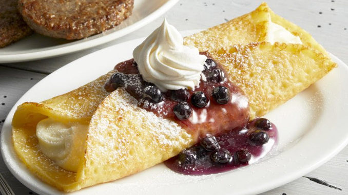 Bob Evans Welcomes Back Crepes