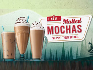 Caribou Coffee Pours New Malt-Flavored Beverages And New Double Egg Ham & Swiss Sandwich