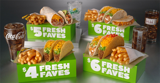 Fresh Faves Box Meals