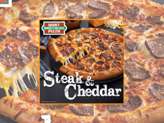 Hunt Brothers Unveil New Steak & Cheddar Pizza