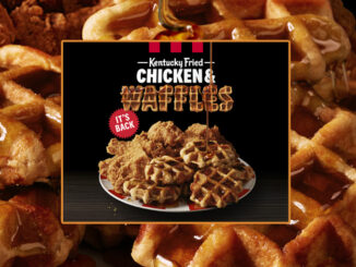 KFC Welcomes Back Kentucky Fried Chicken & Waffles From March 23 Through April 29, 2019