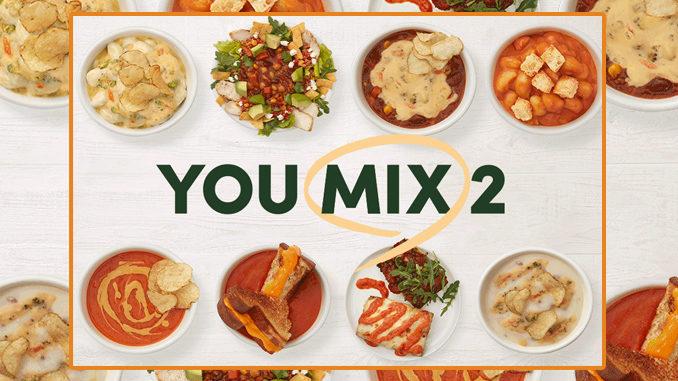 Panera Brings Menu Hacks To Life With New 'You Mix 2' Menu