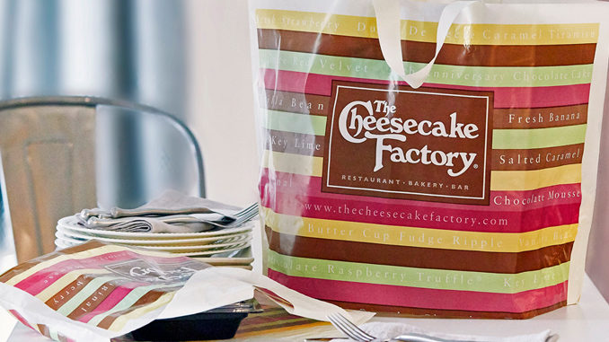 The Cheesecake Factory Is Giving Away Free Food On April 1, 2019 – No Joke