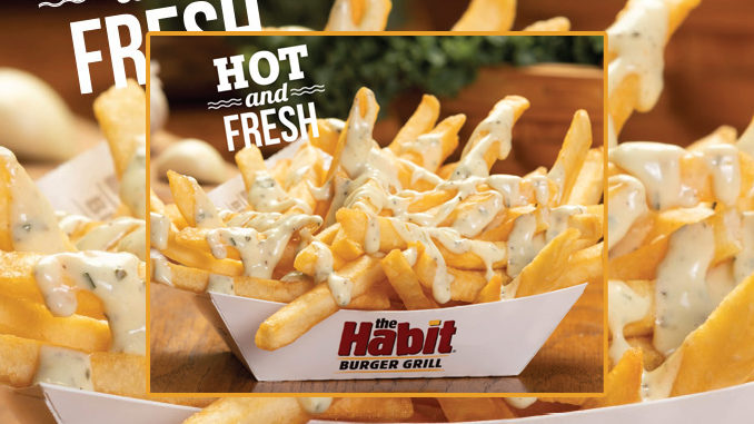 The Habit Puts Together New Garlic Herb Fries