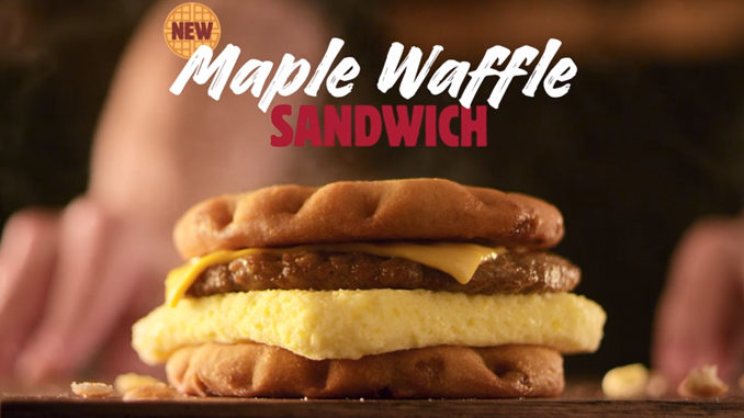 Burger King Spotted Testing New Maple Waffle Sandwich In Newark, Ohio