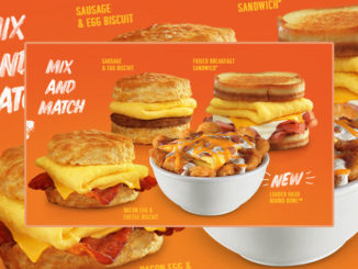 Hardee's Adds New Loaded Hash Rounds Bowl To 2 For $4 Mix And Match Breakfast Favorites Deal