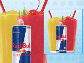 New Red Bull Slushes Now Available At Sonic