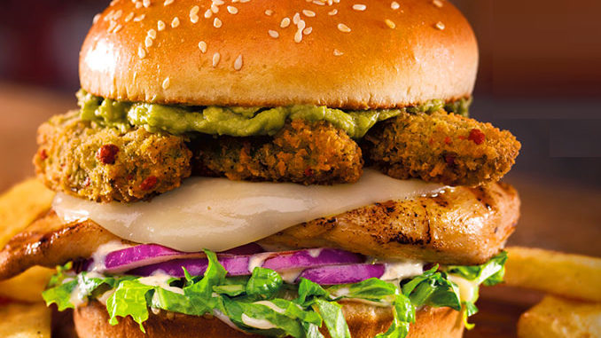 Red Robin Adds New Zita's Chicky 'Cado Burger