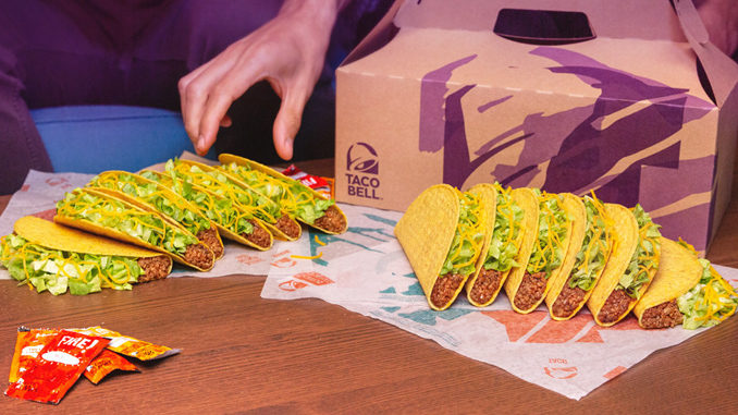 Taco Bell Offers 15% Off Party Packs Ordered Online For In-Store Pick Up Through June 8, 2019