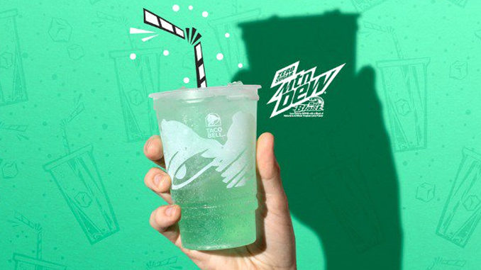 Taco Bell Offers Free Mountain Dew Baja Blast Zero Sugar With Any Online Order Through May 11, 2019