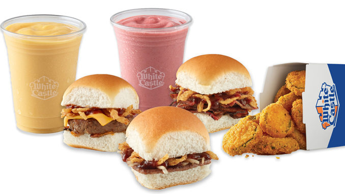 White Castle Introduces New BBQ Bash Slider Lineup, Welcomes Back Fried Pickles And Summer Smoothies