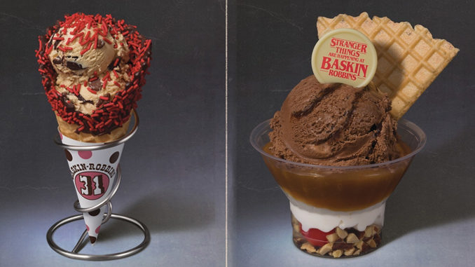 Baskin-Robbins Reveals Two New Stranger Things-Inspired Flavors Of The Month For June 2019