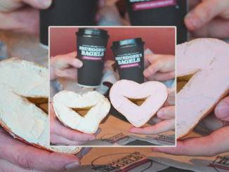 Bruegger's Welcomes Back Heart-Shaped Bagels For Mother's Day 2019