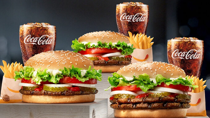 Burger King Puts Together 3 New Whopper Meal Deals - Chew Boom