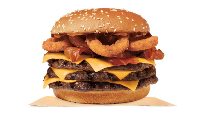Burger King Spotted Selling Rodeo Stacker King Sandwiches