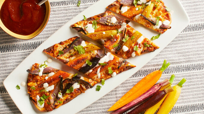 California Pizza Kitchen Unveils New BBQ Heirloom Carrot Flatbread As Part Of 2019 Summer Menu