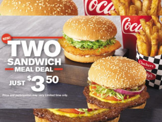 Checkers And Rally's Serves Up New 2 Sandwich Meal Deal For $3.50