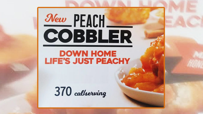 Church's Introduces New Peach Cobbler Dessert