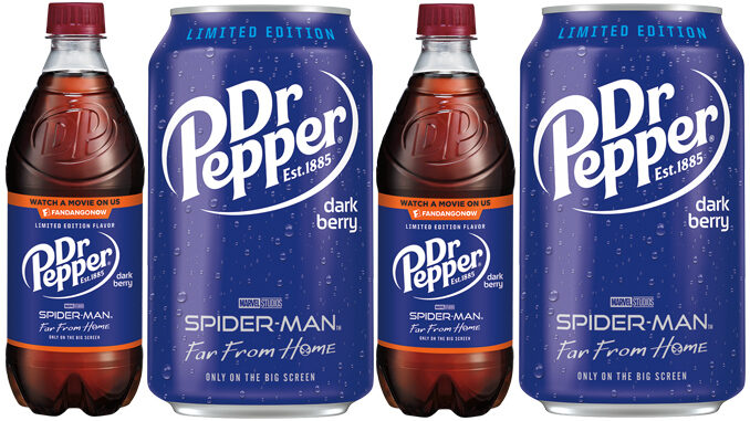 Dr Pepper Introduces New Dark Berry Flavor