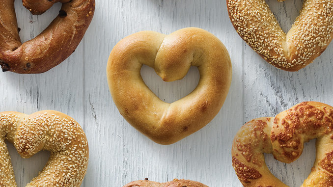 Heart-Shaped Bagels Are Back At Einstein Bros. For Mother's Day 2019