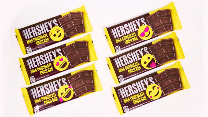 Hershey's Unveils New Milk Chocolate Emoji Bars