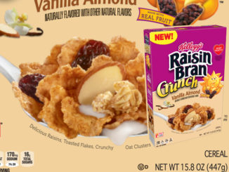 Kellogg's Introduces New Raisin Bran Crunch Vanilla Almond Cereal