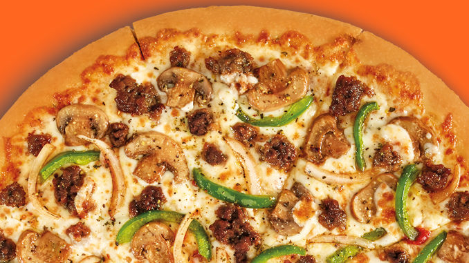Little Caesars testing pizza with Impossible Foods meatless sausage