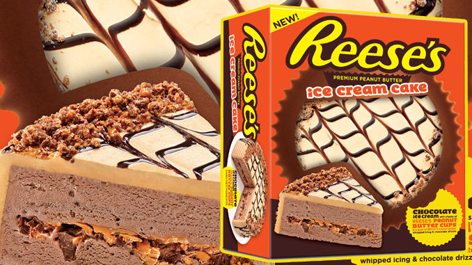 New Reese's Ice Cream Cake Available Now At A Grocery Store Near You