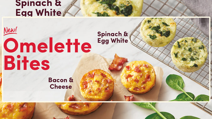Tim Hortons Introduces New Omelette Bites