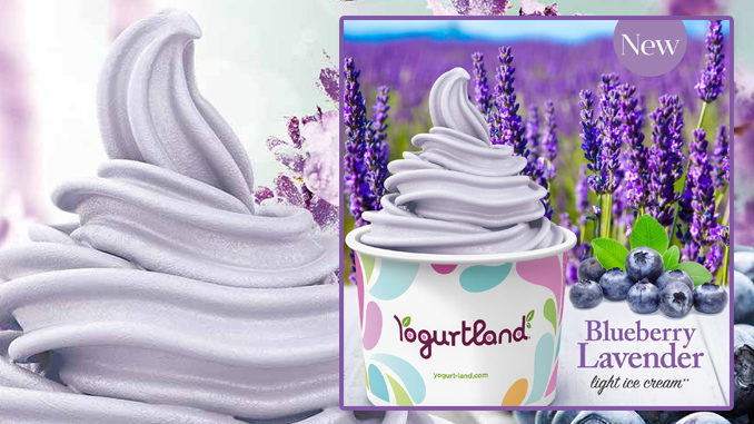 Yogurtland Introduces New Blueberry Lavender Light Ice Cream