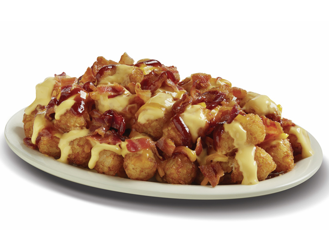 BBQ Bacon Cheese Tots